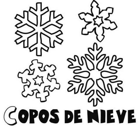 imagenes de invierno navidad dibujos de diferentes tipos de copos de nieve en invierno