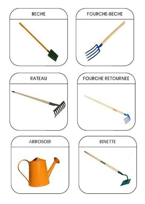 Noms Des Outils De Jardinage by Imagier Du Jardin Les Outils 1