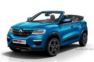 Convertible Renault Renault Kwid Convertible Envisioned Via Rendering