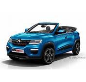 Renault Kwid Convertible Envisioned Via Rendering