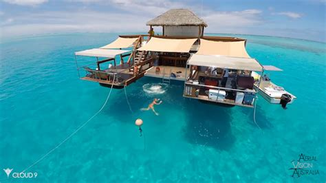 Floating Bar Experience Paradise On This Floating Bar In Beautiful Fiji