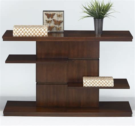 birch console table waterfall bright medium birch sofa console table from