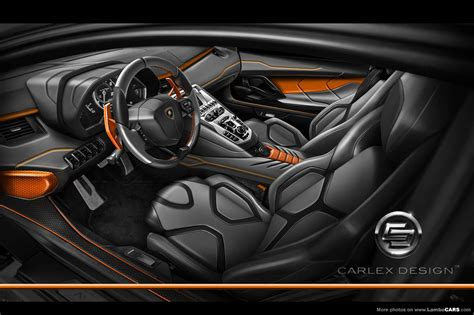 lamborghini custom interior carlex design interior for the aventador carlex design