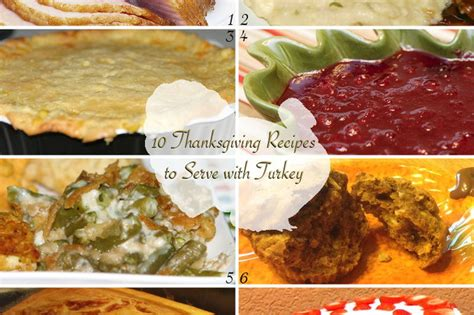 10 thanksgiving recipes to serve with turkey