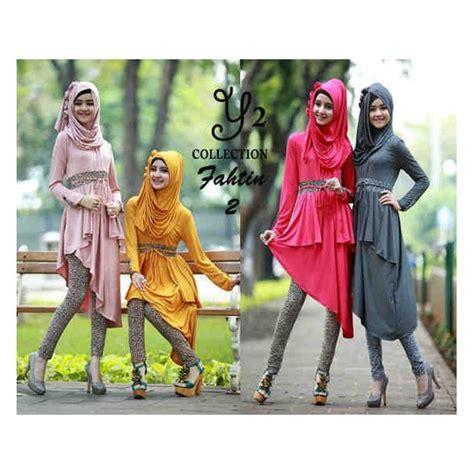 setelan muslim fathin 3in1 koleksi baju muslim remaja