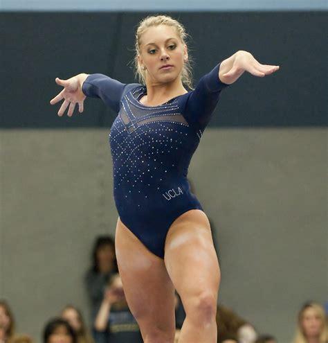 Or Gymnastics Gymnastics Team S Work Ethic Motivated By Motto Daily Bruin