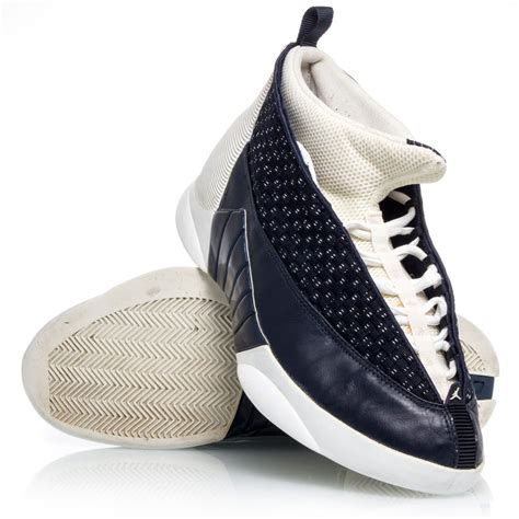 navy and white basketball shoes air 15 low mens basketball shoes white navy