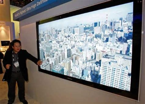 an 82 inch concept tv from samsung