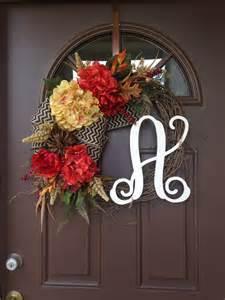 Fall Front Door Wreaths Wreath Fall Wreath For Front Door Front Door Decor By Flowenka
