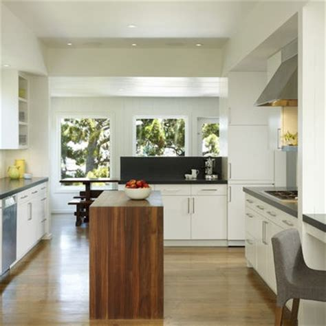 narrow kitchen island kitchen inspiration