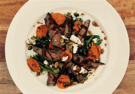 Ijoijoan Saladova Bean Vegs Salad Size Medium warm beef salad with balsamic dressing cook fast eat