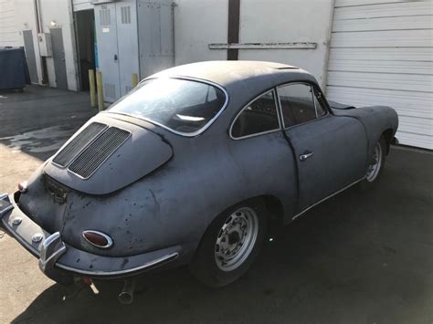 Porsche For Restoration For Sale by Great Restoration Project 1963 Porsche 356 S For Sale