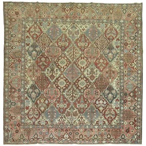 bakhtiari rugs square bakhtiari rug for sale at 1stdibs