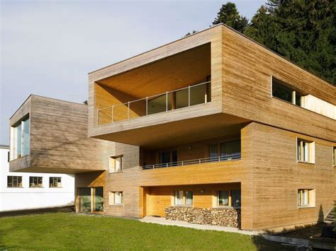 Cantilever Balcony balcony cantilever modern countryside house on lake
