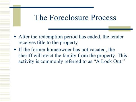 what is a redemption period in a foreclosure ehow foreclosures and short sales november 2008