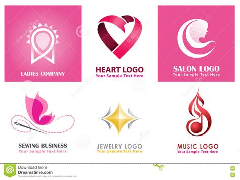 unique logo collections  women ladies sewing jewelry
