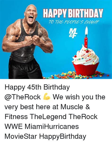 Happy Birthday Gym Meme - happy birthday to the people hh happy 45th birthday