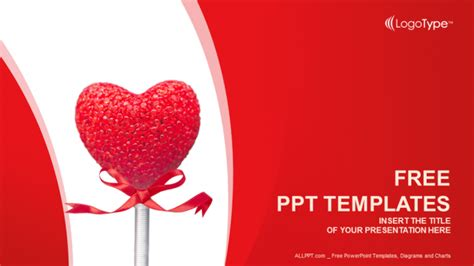 valentines heart recreation powerpoint templates