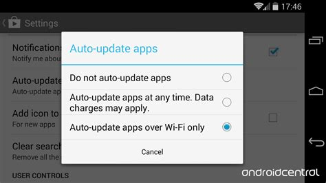 how to turn automatic updates android updating your android apps choosing automatic or manual and how to get it done android central