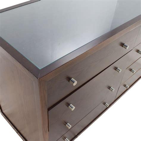 89 custom custom solid wood glass top dresser storage