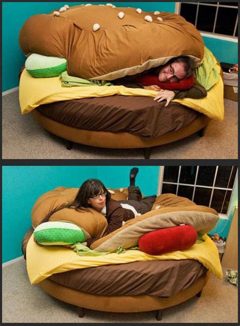 cheeseburger bed hamburger bed