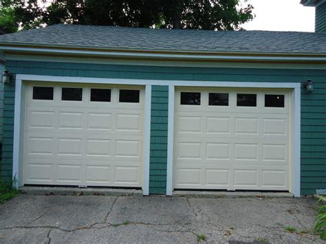 New Garage Doors Installed In Augusta Maine By Winsmor Augusta Overhead Door