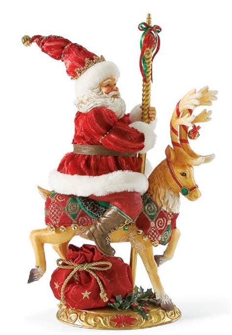 reindeer statue reindeer rides 5 cents merry go santa claus figurines and carved wooden santas