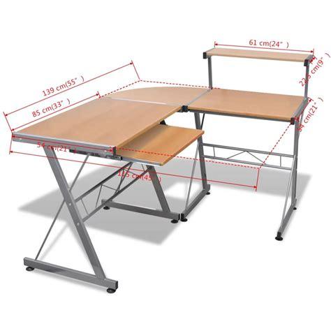 schreibtisch arbeitstisch computertisch schreibtisch arbeitstisch ecktisch pc tisch