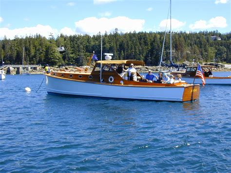 motorjacht bonker bunker and ellis downeast yacht tradition ellis boat