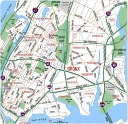 Map Of New York Bronx map of bronx new york brorx new york com
