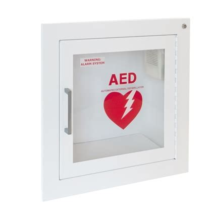 JL Fully Recessed AED Cabinet, 1415F12