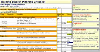 Workshop Planning Checklist Template by Checklist Template Excel Free Project