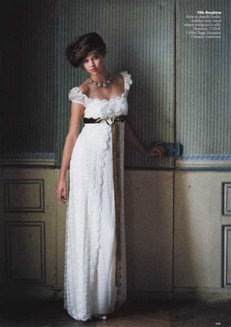 Empire Wedding Dress by Empire Style Wedding Dresses With Sleeves