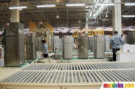Mesin Cuci Sharp Baru foto pabrik baru produksi lemari es mesin cuci sharp