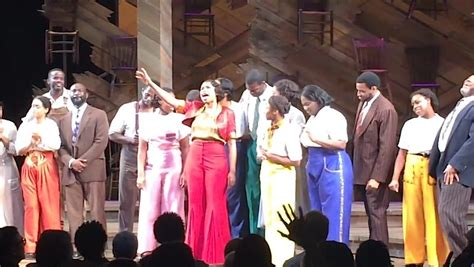 the color purple broadway cast cast of broadway s the color purple sing electrifying