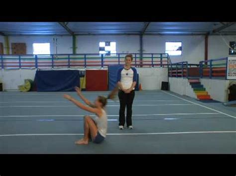 layout tumbling youtube gymnastics tumbling how to do a handstand forward roll