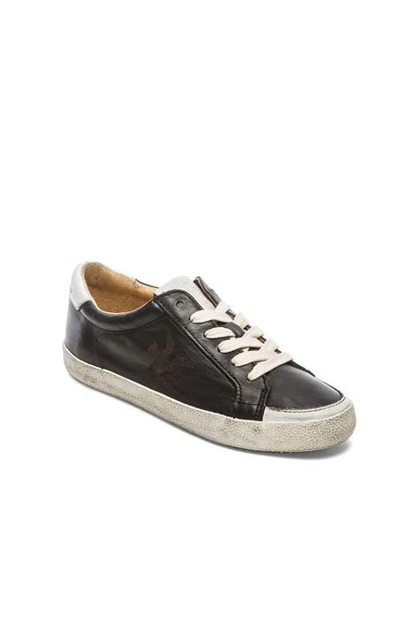 frye sneakers frye dillon low top lace up sneakers in black lyst