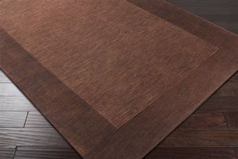 surya mystique m 294 brown chocolate area rug
