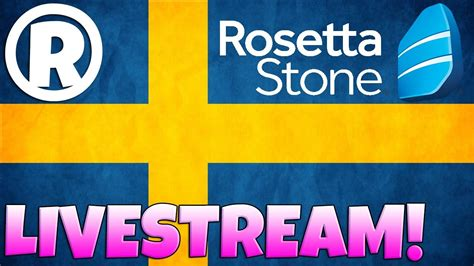rosetta stone unsubscribe learning swedish with rosetta stone youtube