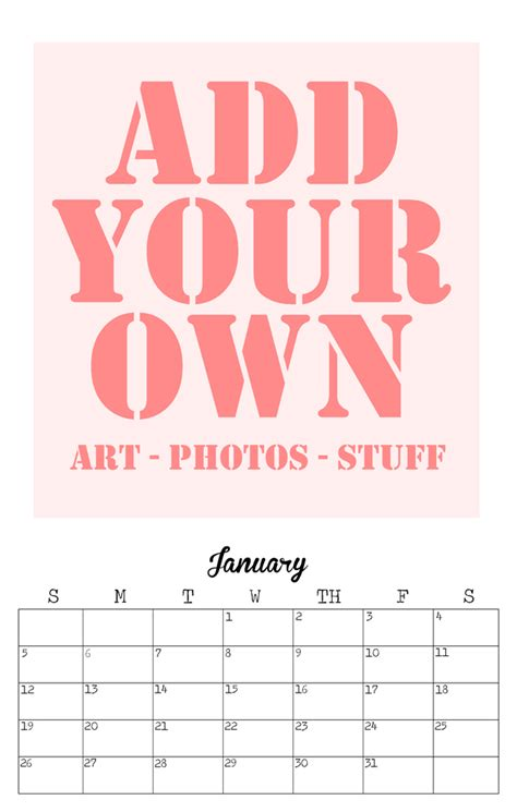 diy calendar template 2014 burlesque pin up calendar plus free diy