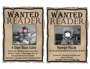 free printables editable western quot wanted quot theme posters