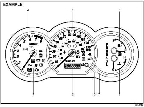 suzuki grand vitara instrument cluster instrument panel suzuki grand vitara owner s manual