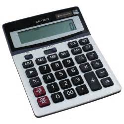 Desk Top Calculator by Brand New Boxed Desk Calculator Jumbo Large Buttons Solar