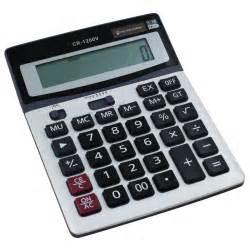 brand new boxed desk calculator jumbo large buttons solar - Desk Calculator