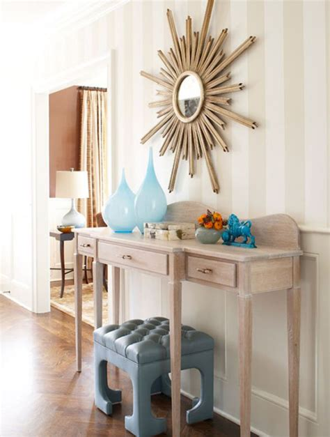 Ideas To Decorate Entrance Of Home by How To Decorate A Console Table Top Seeing The Forest