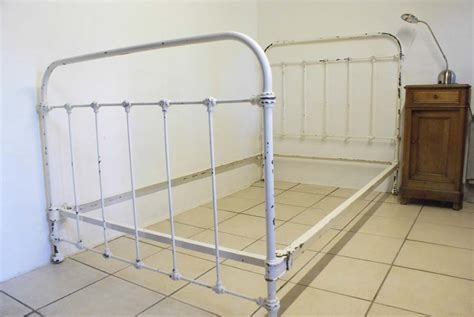 white iron beds 1930s french shabby chic white iron bed excludes base