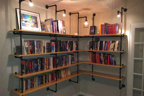 Iron Pipe Bookshelf Mono Suki 水道管を使ったdiyの棚