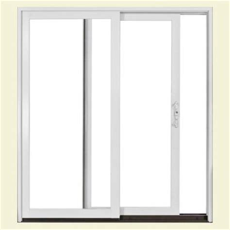 Sliding Patio Doors Home Depot Jeld Wen 72 In X 80 In W2500 Series Right Sliding Patio Door S37485 The Home Depot