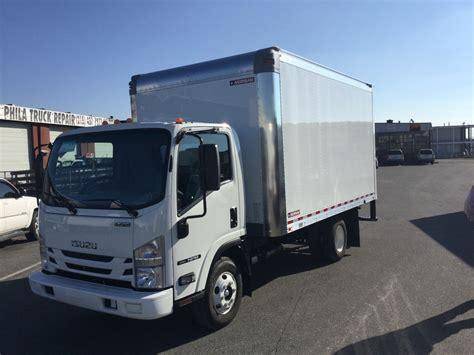 2016 isuzu npr efi 14 ft box truck bentley