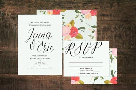 minted wedding invitations 2 mint green wedding invitation suite set of 25 2493176 weddbook